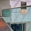 Balustrada sticlă fixare liniara