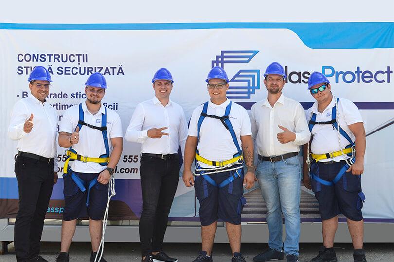 Echipa GlassProtect Romania